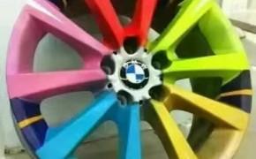 汽车微修的创新:轮毂修复翻